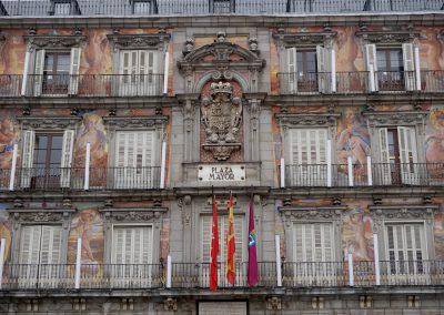 Мадрид Испания плаза Майор