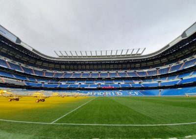Сантиаго Бернабеу стадион Реал Мадрид