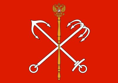 Санкт Петербург флаг