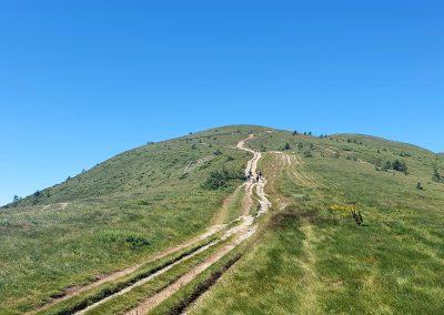 Част от изкачването