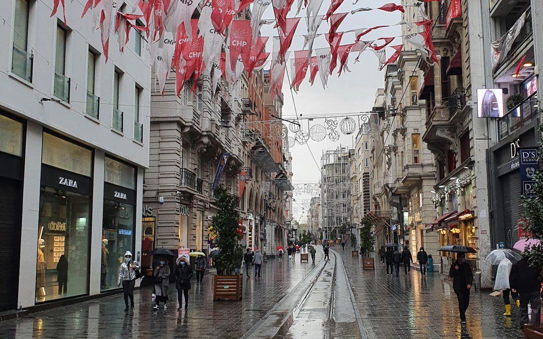 На маратон в Истанбул през 2020
