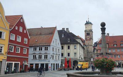 Кратка разходка и обяд в Меминген